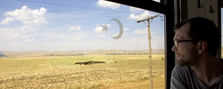 Im Schlafwagen nach Persien