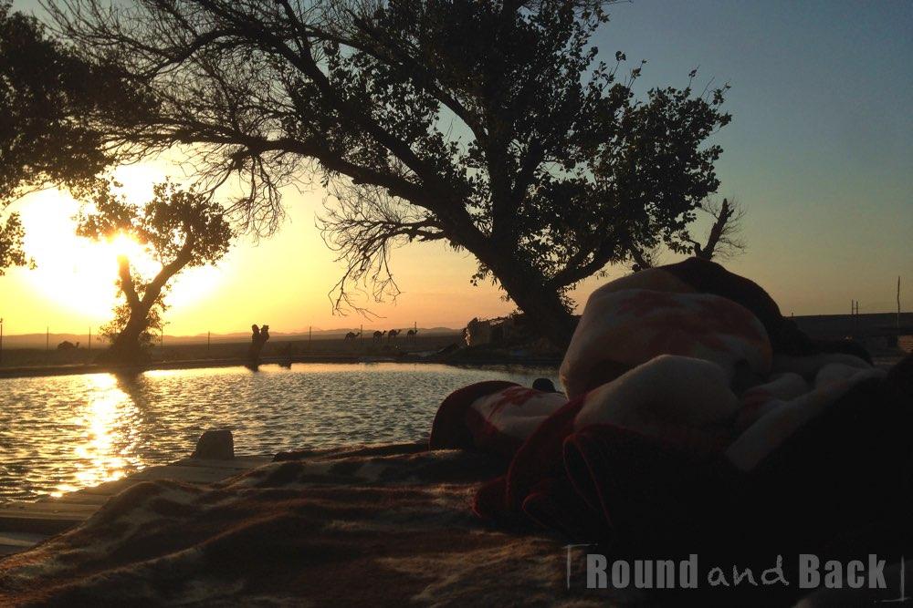 Iran, Karawanserei in der Kaviar Wüste, unser Nachtlager