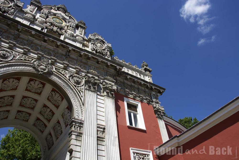 Torbogen des Dolmabahce - Palasts