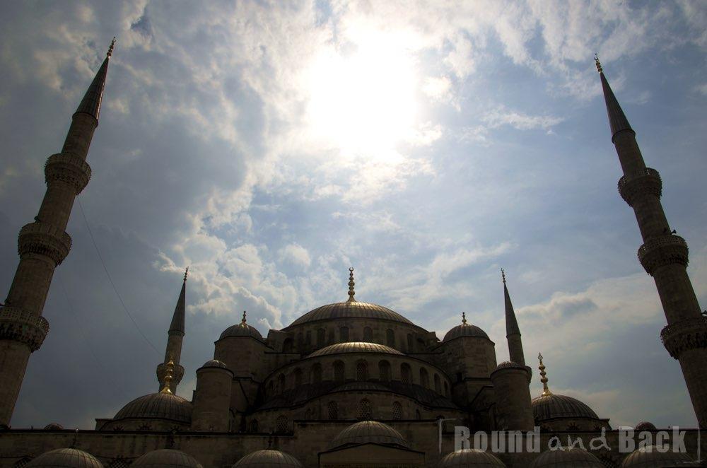 Aufnahme der Süleymaniye Moschee in Istanbul
