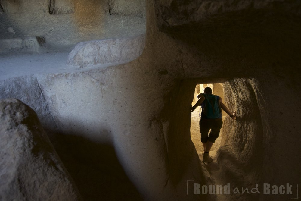 Höhlengänge in Kappdokien