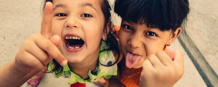Titelbild Die Kinder von Samarkand, Usbekistan.